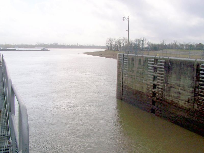 Port Allen Locks