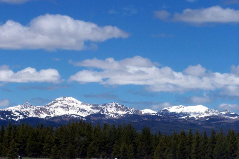 Mountains around West Yellowstone - West Yellowstone