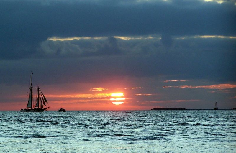 Sunset in 2005 - Key West
