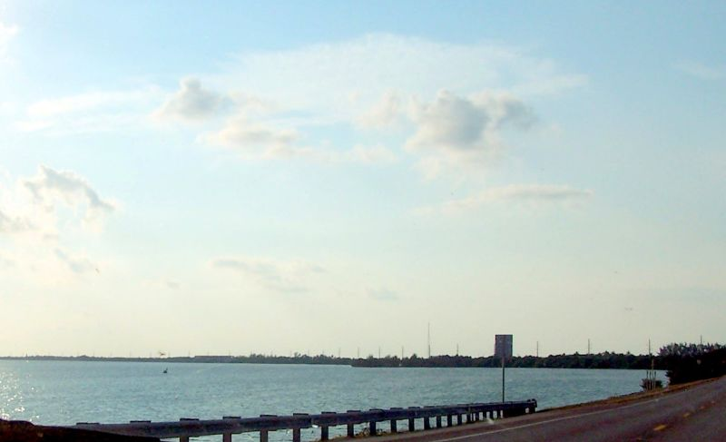 Keys Highway about 20 minutes north of Key Colony Beach - Key Colony Beach