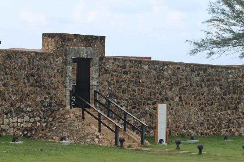 Entrance to Fort San Felipe - Puerto Plata