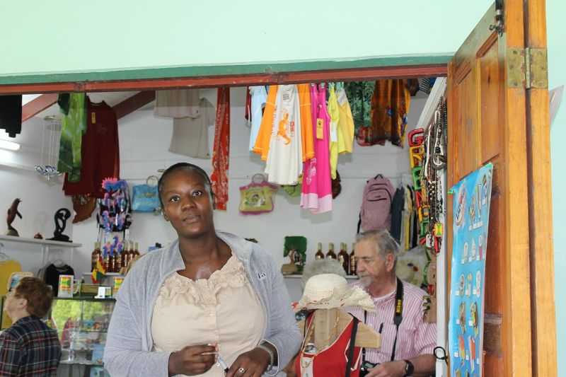 clothing and souvenirs - Grenada