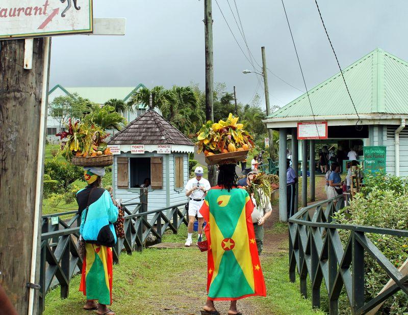Entrance to the park - Grenada