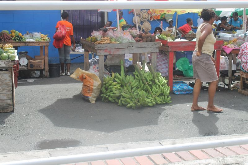 More stalls of food - Saint George's