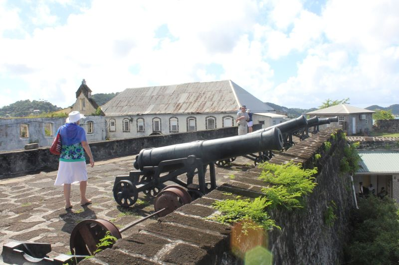 Cannon at Fort George - Saint George's