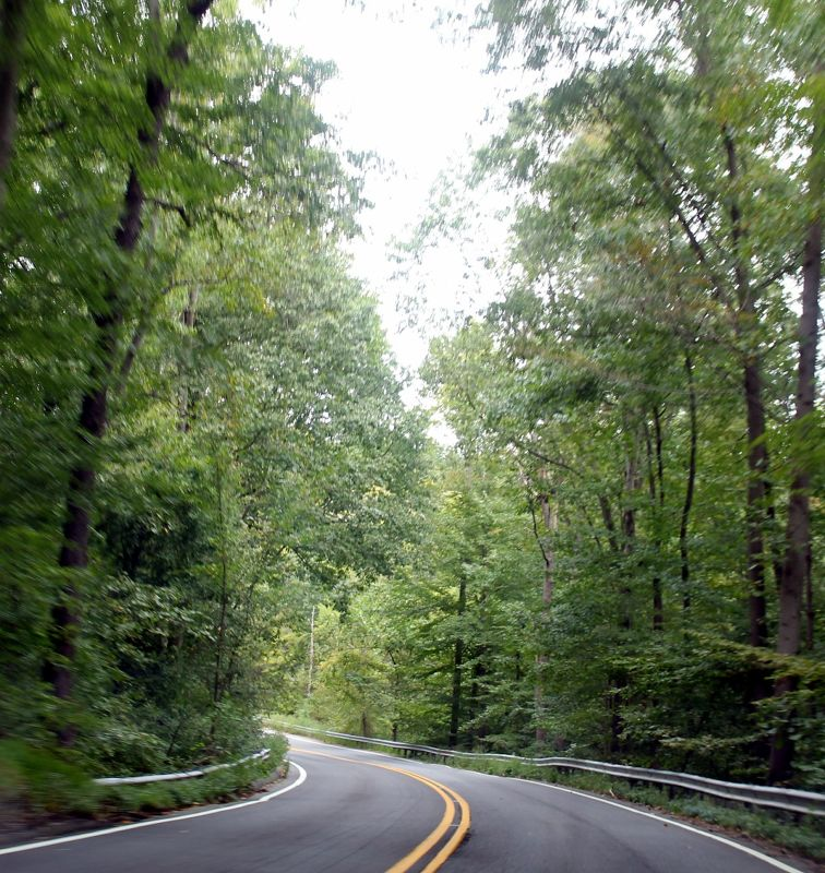 Rural Maryland road - Lancaster