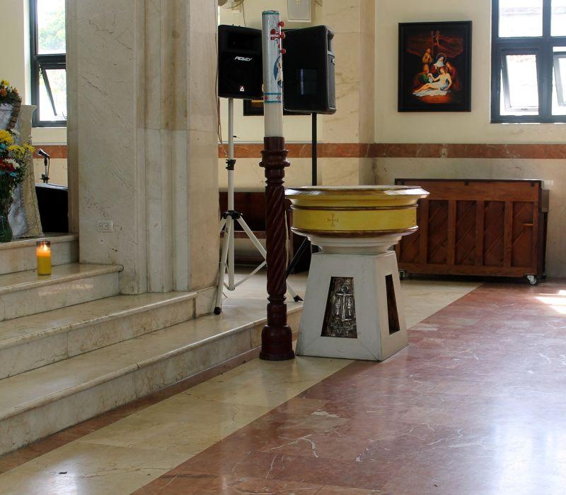 Baptismal font - Puerto Plata