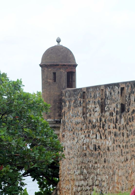 One of the sentry towers - Puerto Plata