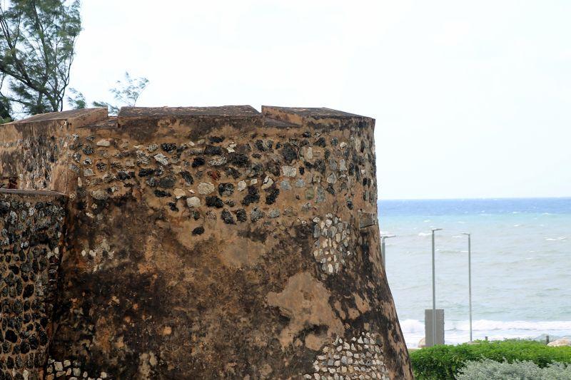 Fort ramparts - Puerto Plata