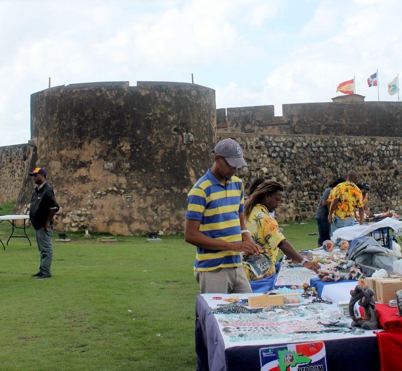 Souvenir sellers - Puerto Plata