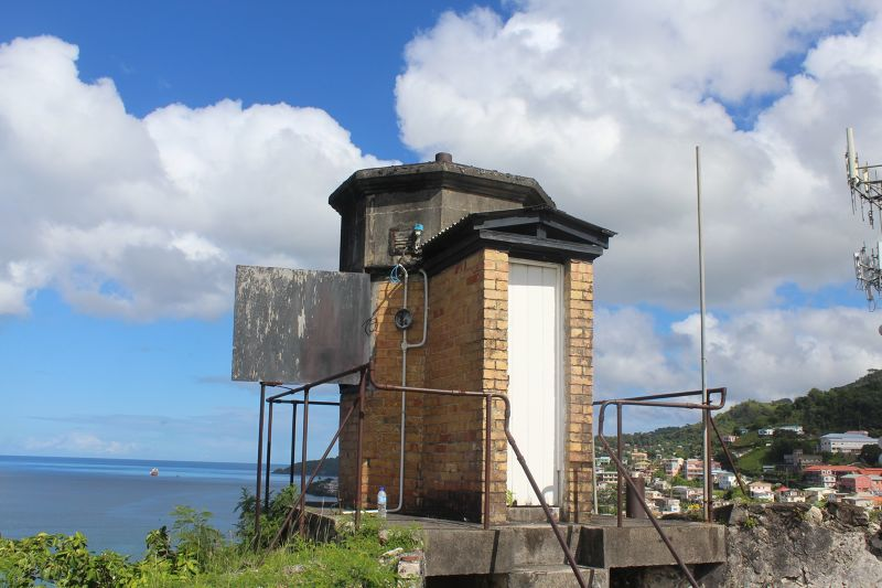 St. George's Harbour Lighthouse on Fort George - Grenada