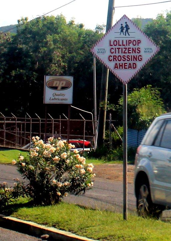 Lollipop crossing