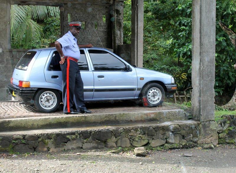 Policeman at Douglaston