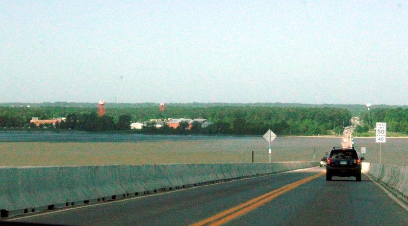 Approaching the Virginia Shore