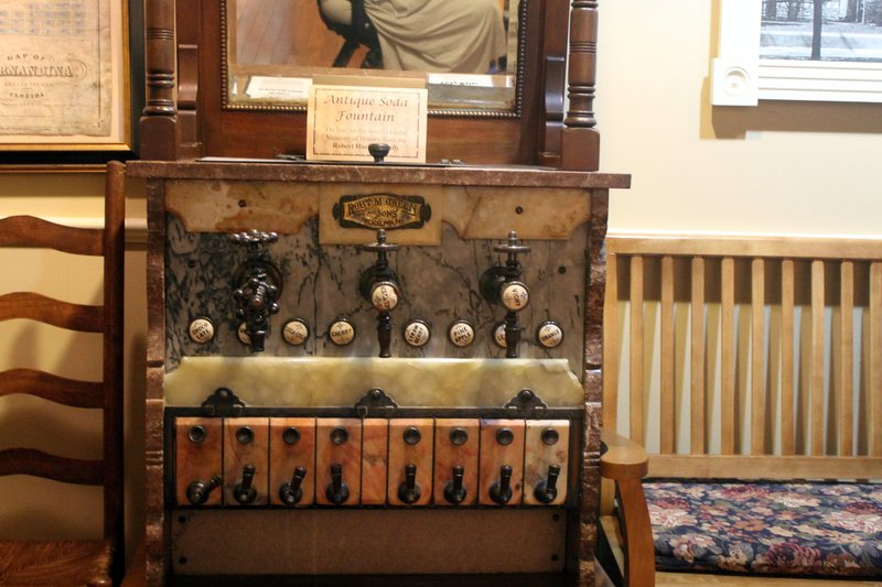 Antique soda fountain