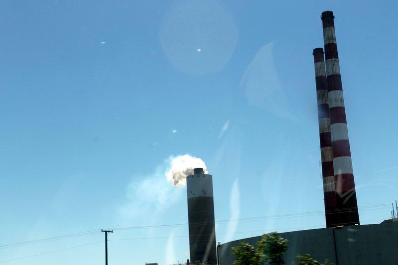 Morgantown Power Plant smokestake