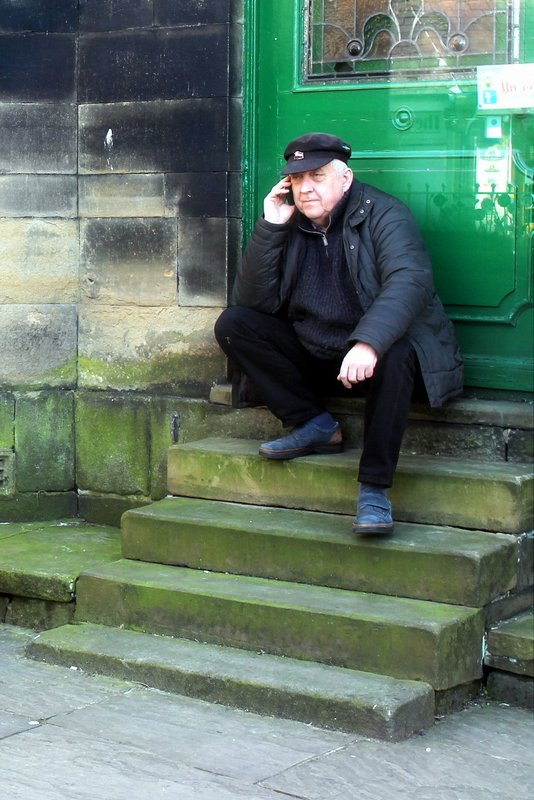 Colin makes a Call