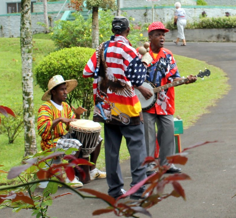Band at Grand Etang