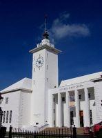 Clock and Sea Venture Weather Vane - Hamilton