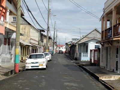 Street in Gouyave