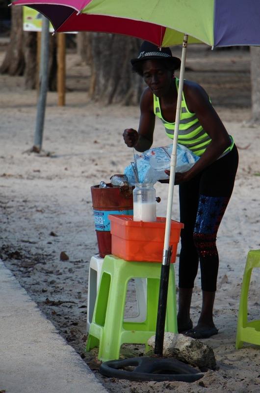Sorbet Coco vendor