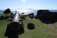 Cannons overlooking the sea
