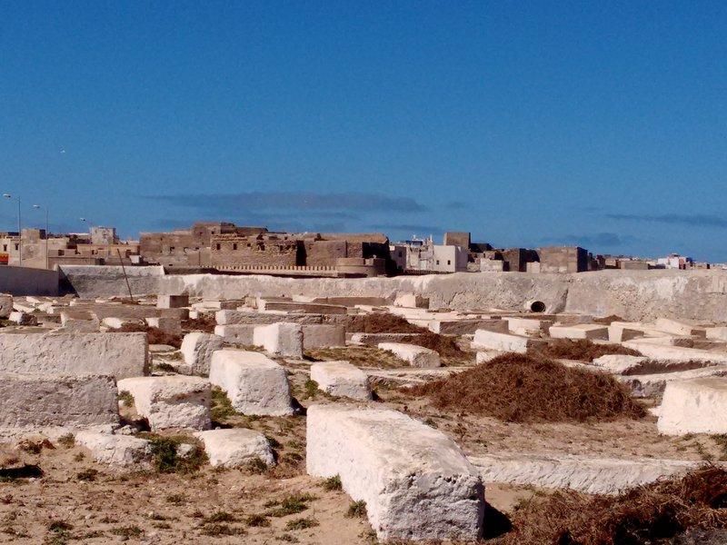 Essaouira Jewish graveyard and Mellah