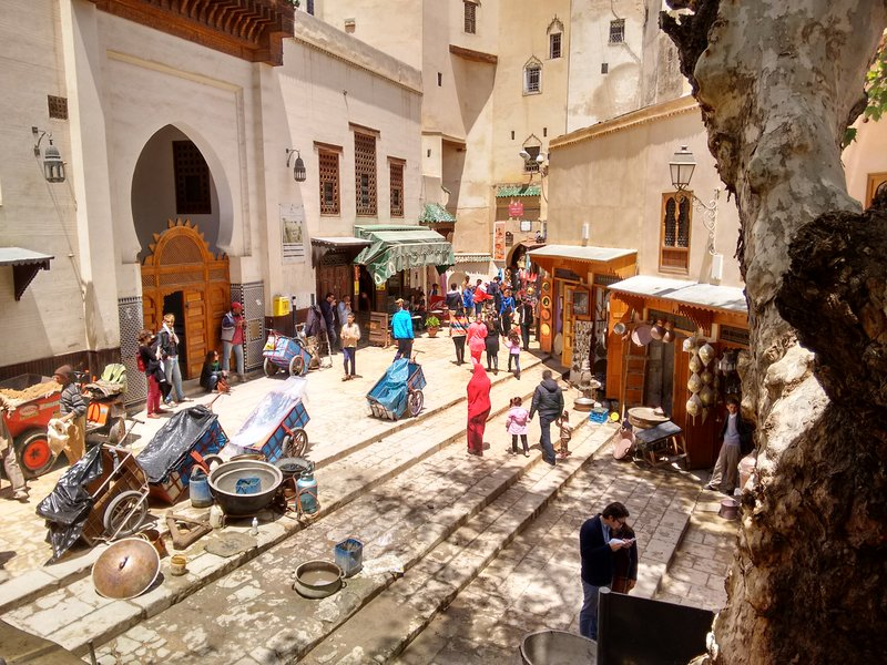 Fes el Bali, Place Seffarine, Morocco.