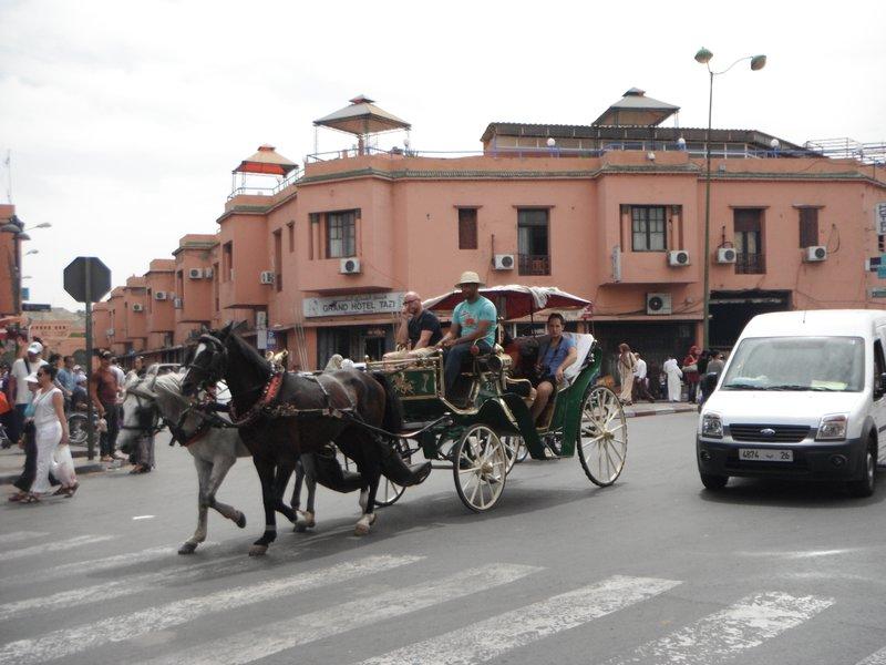 Marrakesh, Morocco...