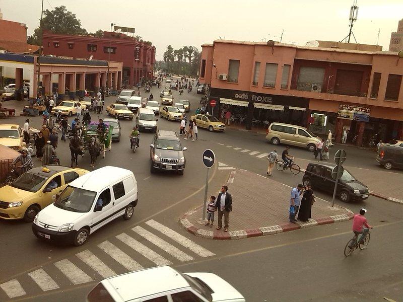 Marrakesh, Morocco, Ave Hommane el Fetouaki...