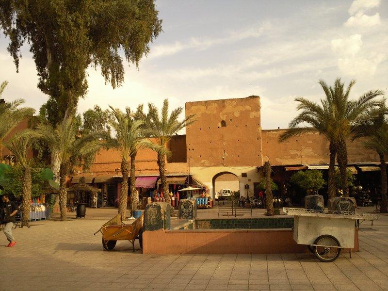 Marrakesh, Place des Ferblantiers...