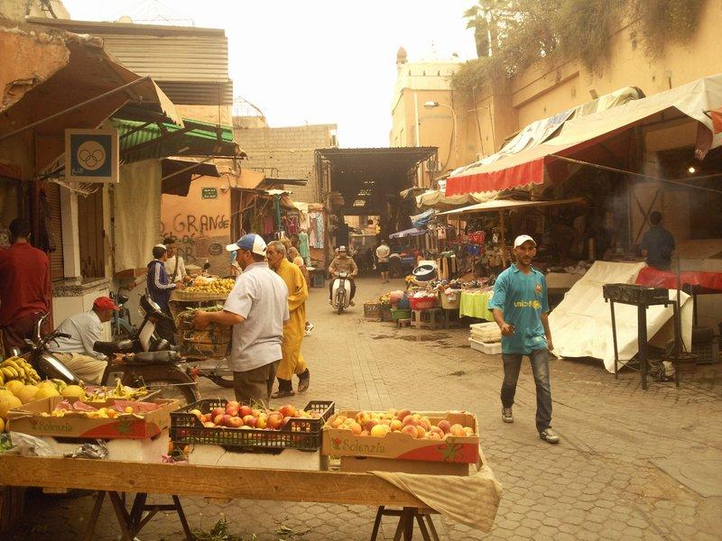 Marrakesh Rue Moulay Lyazid