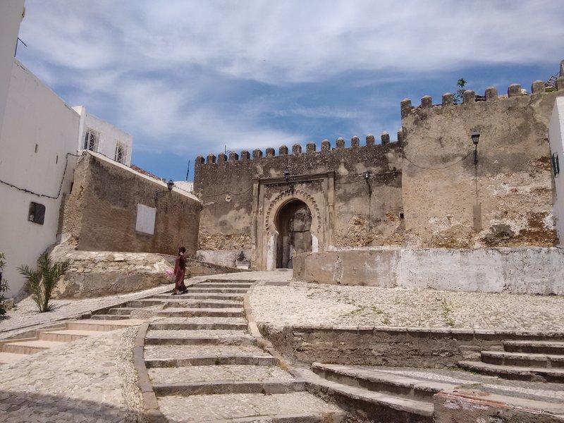 Tangier, Morocco,  Kasbah Bab Assa
