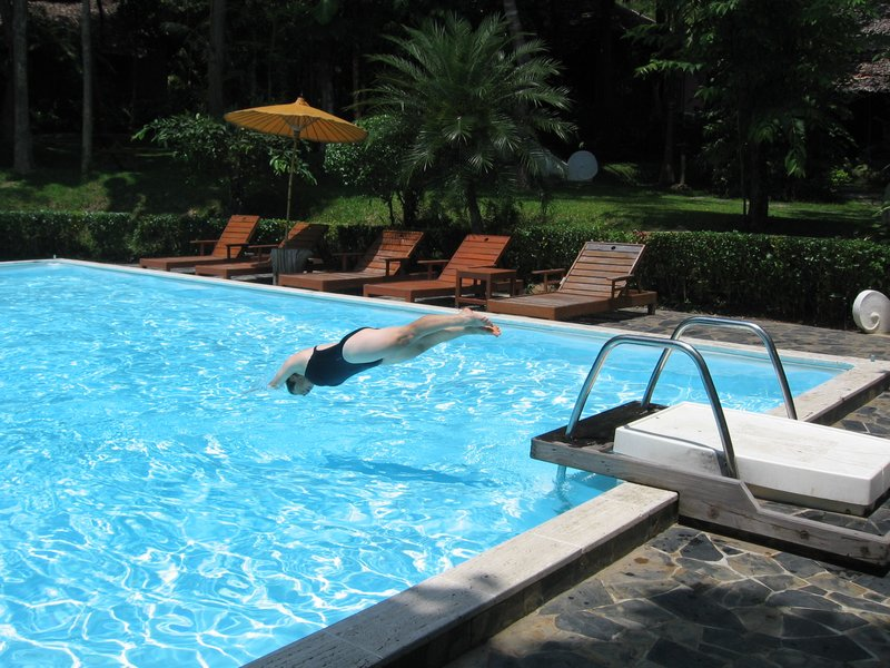 Fern resort swimming pool