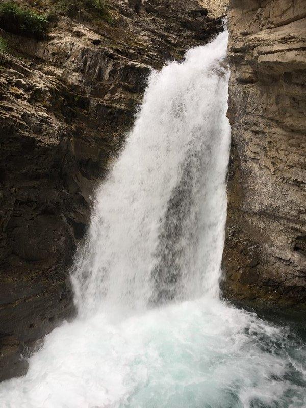 Falls at Johnson Canyon
