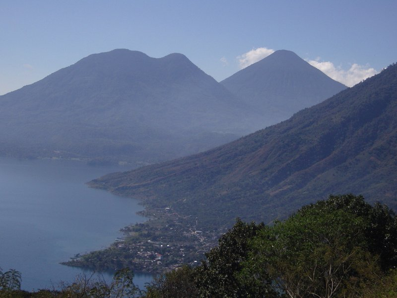Local festivities in San Marcos La Laguna, Lake Atitlan