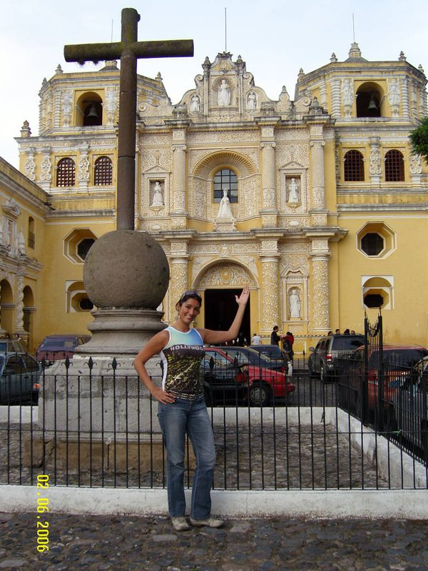 This is Iglesia La Merced