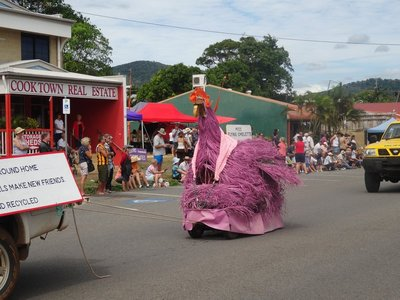 Pink 'Betty' Cooktown Parade
