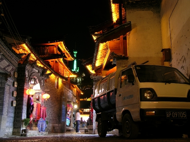 Night scene in Lijiang