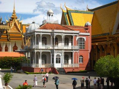 The Iron House at the Royal Palace - Phnom Penh