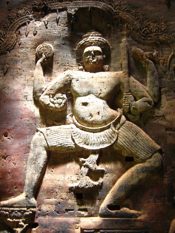 Vishu at Angkor