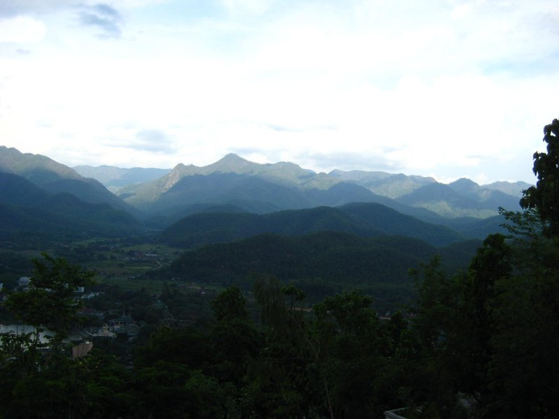 The mountains of Mae Hong Son