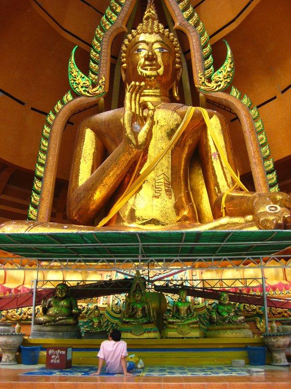 Buddha at Wat Tham Khao Noi