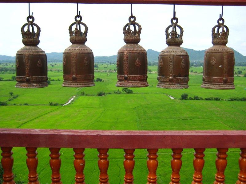 Bells at Wat Tham Khao Noi