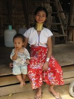 Karen Long Neck Woman Mae Hong Son