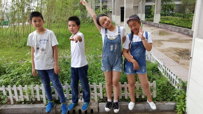 Tim, Liam, Mary & Becky