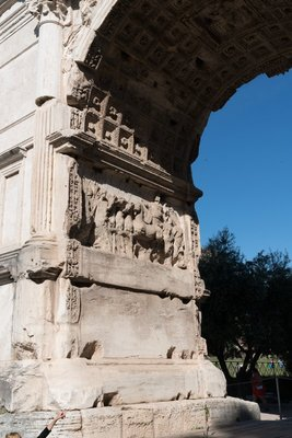 Arch to Augustus in the Forum