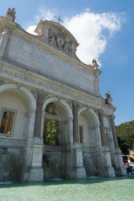 Fountain of Garibaldi, Janiculum Hill