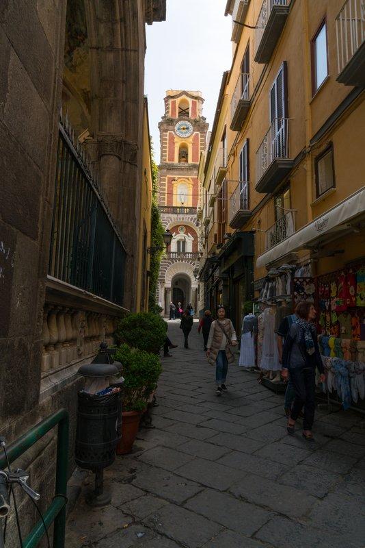 Narrow Streets of Sorrento