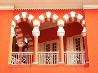 A balcony, Instito Estudos Europeus Macau